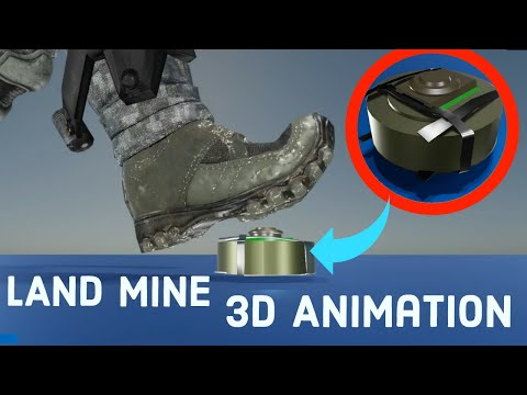 HOW DOES AN LAND MINE WORKS?.|| Anti-tank mines and Anti-personnel mines |learn from the base||