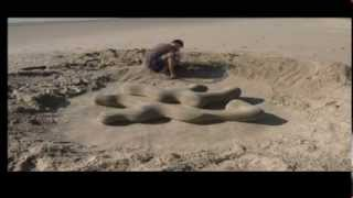 Stop Motion Sand Sculpture
