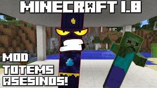 Minecraft 1.8 MOD TOTEMS ASESINOS!
