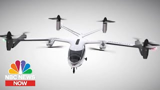 Uber And Hyundai Unveil Plans For Flying Taxi | NBC News NOW