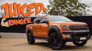 JUICED RANGER // Aftermarket Ford Ranger 4WD Accessories Australia, Rims & Parts, Modified Wildtrak