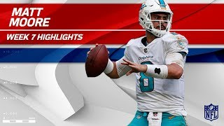 Matt Moore Puts Together Amazing Comeback in 4th Quarter!   Jets vs. Dolphins   Wk 7 Player HLs