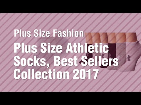 Plus Size Athletic Socks, Best Sellers Collection 2017 // Plus Size Fashion