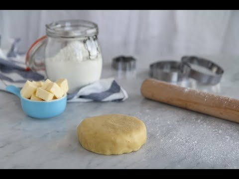 [fr]-pâte-sablée-/-sablee-dough---cookingwithalia---episode-672