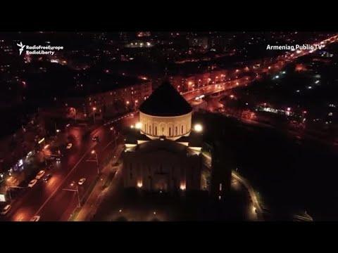 В Армении гасят свет в память о жертвах