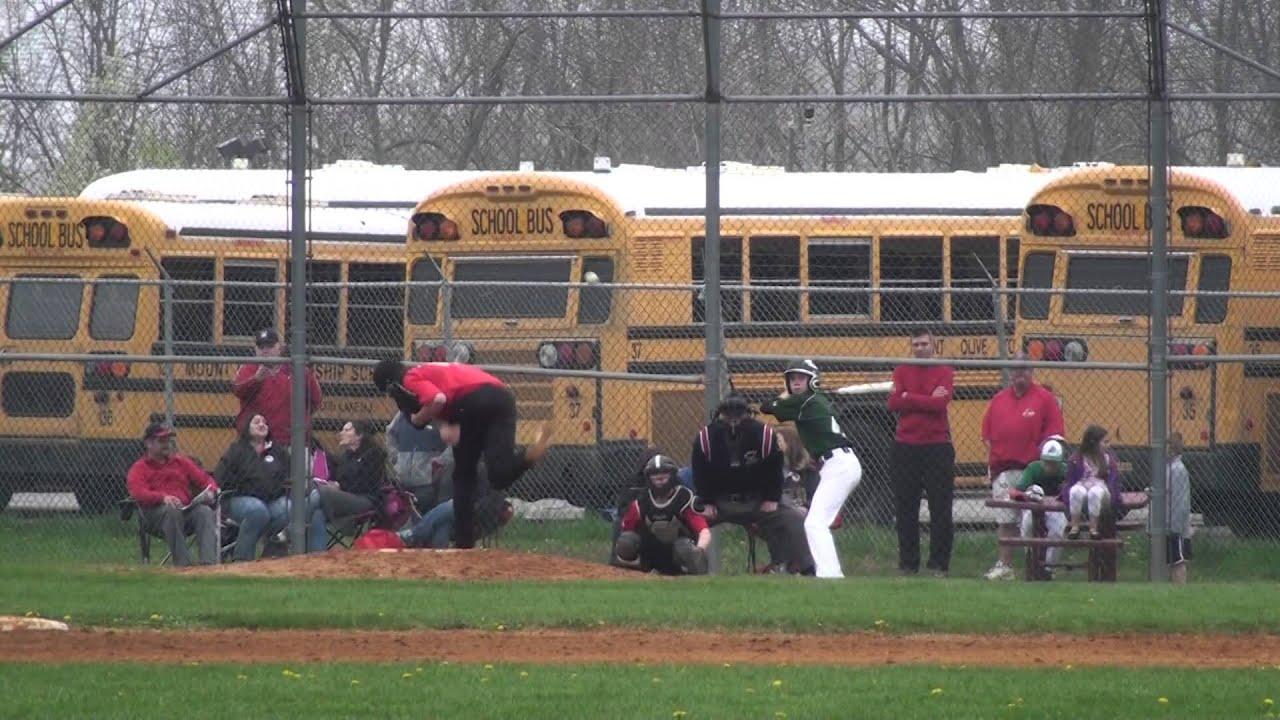 2014 Mt Olive Middle School vs Delbarton Baseball Game 05 09 2014