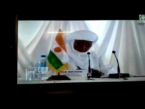 AMELIORATION DU CLASSEMENT DOING B   NIGER Le SG M  MAHAMAN OUSMANE Chambre de Commerce du NIGER 201
