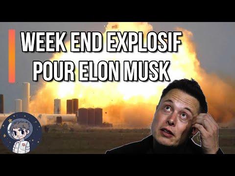 Un week-end EXPLOSIF pour SpaceX ! Le Journal de l'Espace #38 - Culture Générale Spatiale - Actus