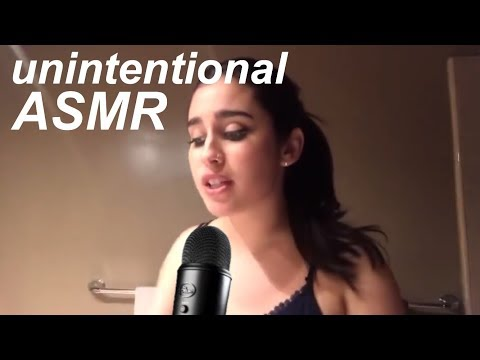 Lauren Jauregui unintentional ASMR