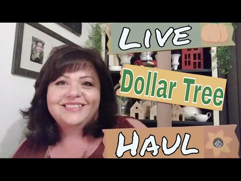 Dollar Tree Haul LIVE 🎥