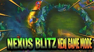 NEXUS BLITZ New Map & Experimental Game Mode Full Duo Jungle Gameplay - League of Legends