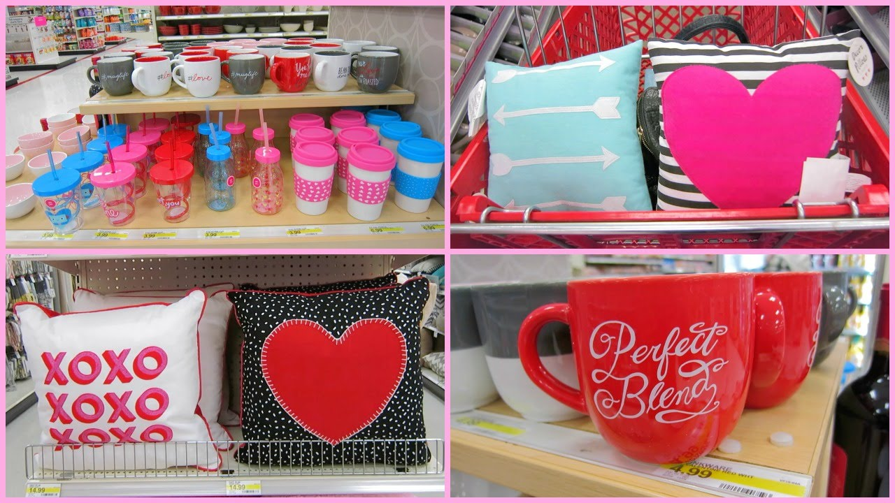 Shopping at target tj maxx valentine 39 s day decorations new home decor youtube Target blue home decor