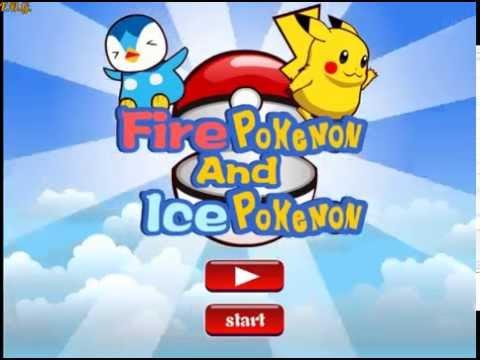 Fire Pokemon And Ice Pokemon (Покемоны Огонь и Лед)