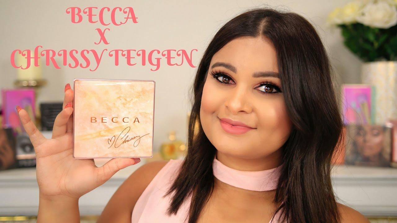 Chrissy Teigen, Becca release Glow Face Palette