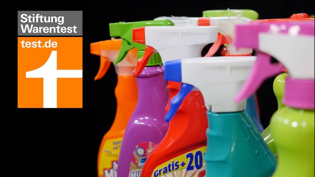 Test Küchenreiniger: Was Power-Sprays leisten - YouTube