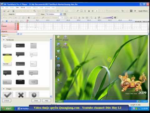 Hướng dẫn quay phim màn hình với phần mềm BB Flashback Pro
