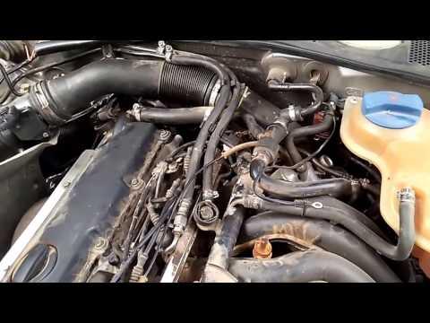 VW PASSAT не заводится на горячую.