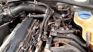 VW PASSAT не заводится на горячую.(, 2016-08-05T14:04:41.000Z)