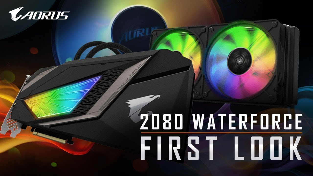 AORUS RTX 2080 Waterforce | First Look
