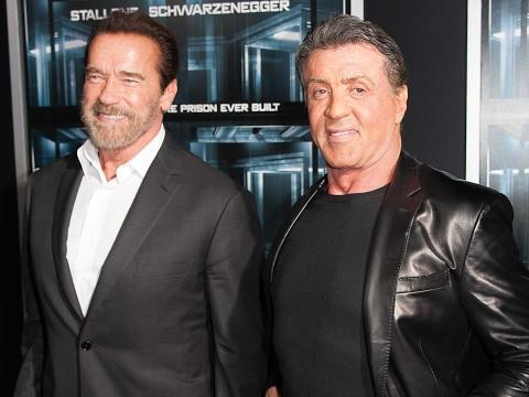 Battle Of Hollywood Action Heroes | Arnold Schwarzenegger Vs Sylvester Stallone | Idol Gossip Videos