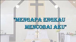 IBADAH UMUM MINGGU 18 OKT 2020. Dilayani: Pdt Drs. Daru Prasongko, S.Si.