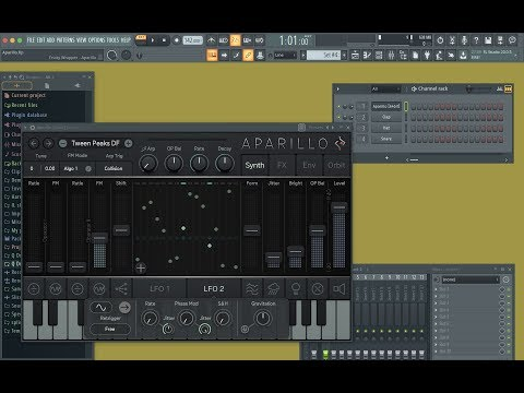 Sugar Bytes Aparillo Plugin - Sound Bank Presets Review (( using FL Studio 20 ))