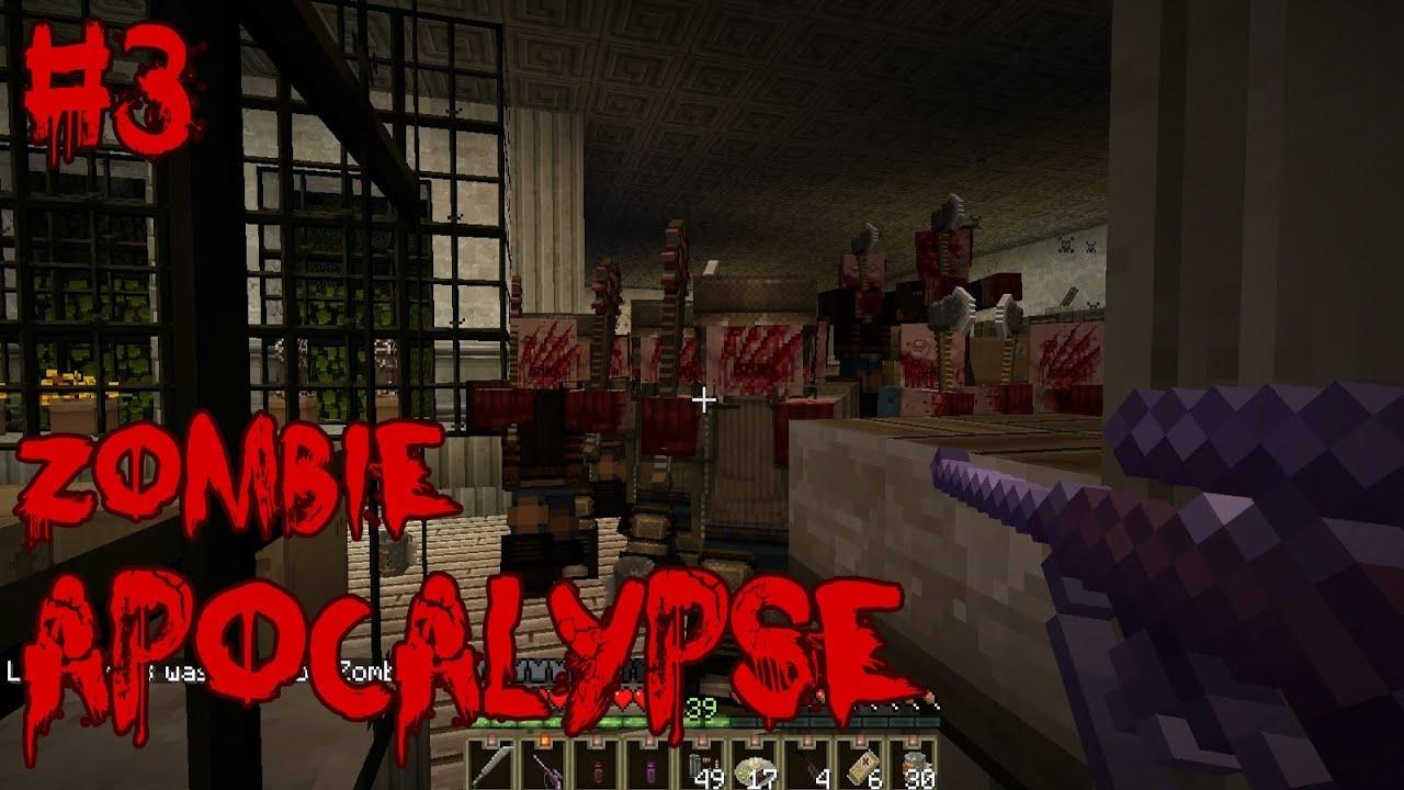 Minecraft Adventure Map ITA  Zombie Apocalypse Ep 3  YouTube