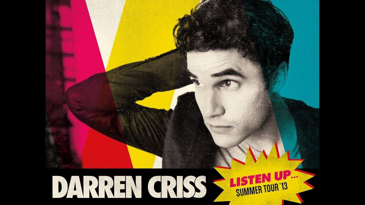 Darren Criss Listen Up Tour