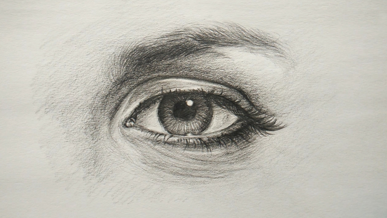Easy color pencil portrait tutorial - YouTube |Simple Pencil Portraits