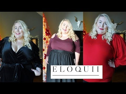 Plus Size | Holiday Eloquii Haul
