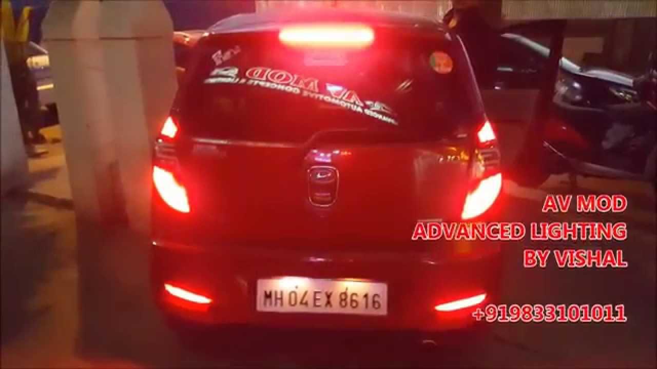 Hyundai I10 Bmw Style Led Tail Lamp By Av Mod Youtube