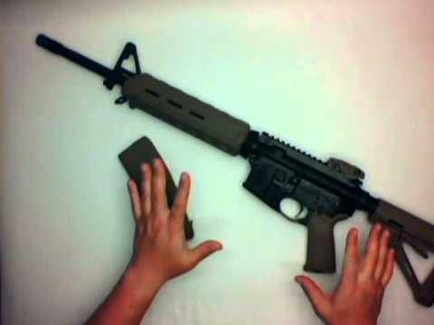 MajorPandemic com - DTI Delton AR15/M4 5 56 Mid-Length Rifle Review DTI-15