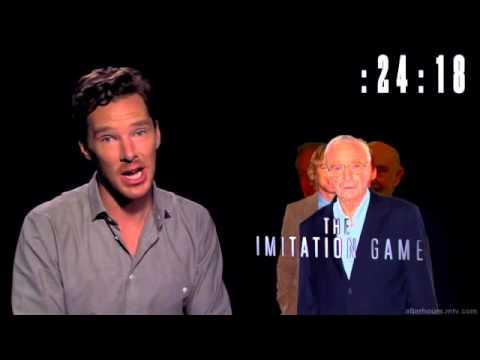Benedict Cumberbatch Doing 11 Impressions in 60 Seconds