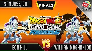 Dragon Ball Super Card Game Gameplay [DBS TCG] San Jose Regional Finals