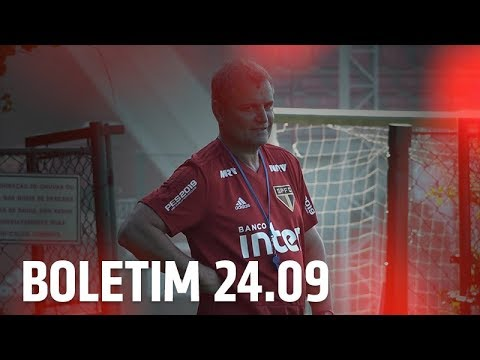 BOLETIM DE TREINO: 24.09 | SPFCTV
