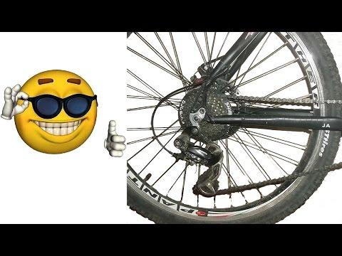 Люфт и шат, раскручивается колесо заднее или переднее, как устранить, бонус неоновая подсветка.
