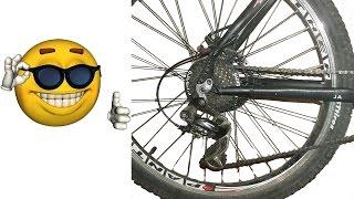Люфт и шат, раскручивается колесо заднее или переднее, как устранить, бонус неоновая подсветка.(Мой ВК https://vk.com/id263241899 Полезные видео с моего канала, о ремонте велосипеда. 1) Задняя втулка колеса обслуживан..., 2015-04-05T14:28:21.000Z)