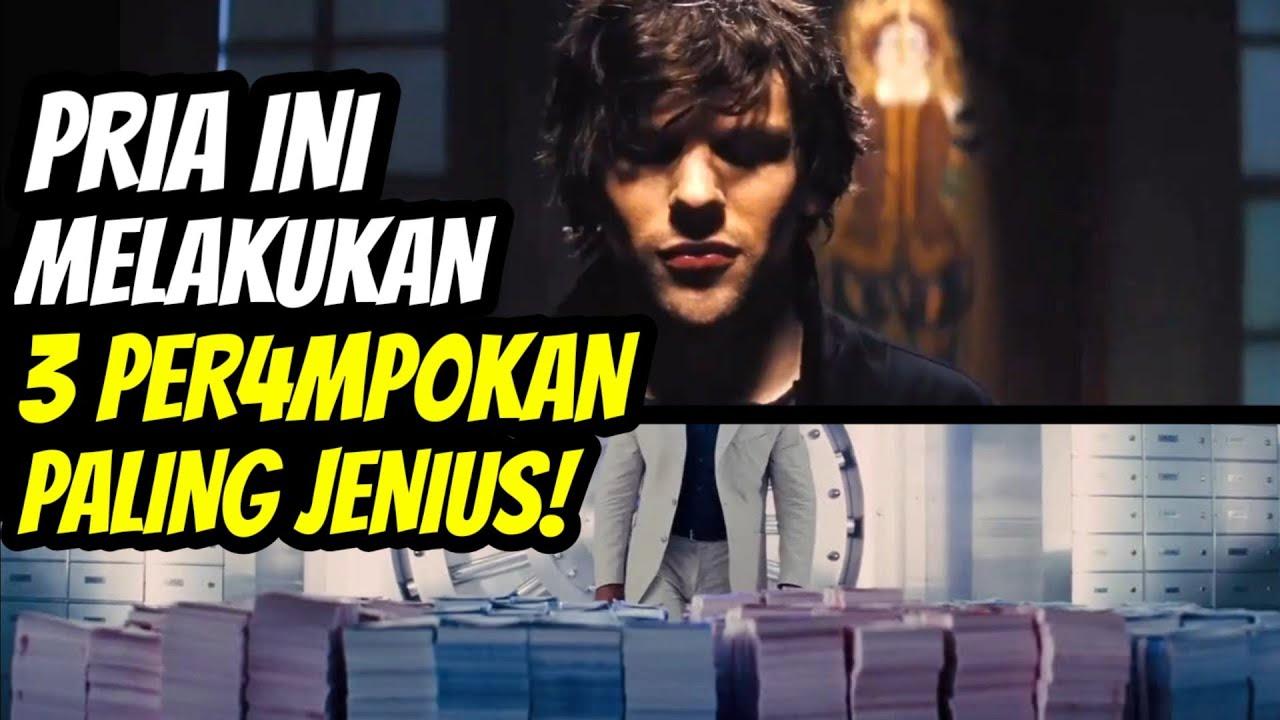 JENIUS! PRIA INI & TEMAN2nya MER4MP0K DENGAN CARA2 YANG GA MASUK DI AKAL! - Alur Cerita Film