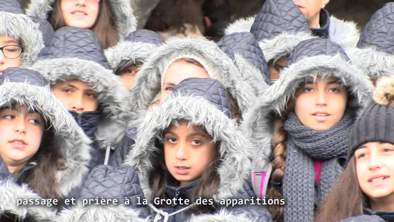 114 enfants syriens de la chorale Cœur-Joie en ...