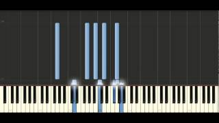 Bach - Partita in G major, BWV 829 - Piano Tutorial Synthesia