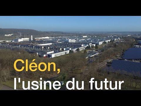 Cléon, l'usine du futur   Groupe Renault
