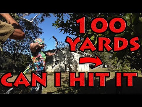 shooting 100 yards with a compound bow