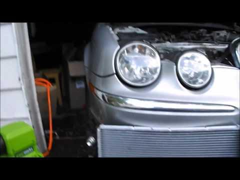 How to replace a 03 jaguar stype radiator