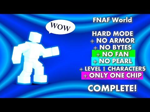 Scott Cawthon Boss, Pre-Update, Level 1s, No Bytes/Armor/Fan/Pearl/Insta-kill, One Chip | FNAF World