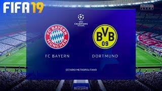 FIFA 19 Demo - FC Bayern München vs. Borussia Dortmund @ Estadio Metropolitano