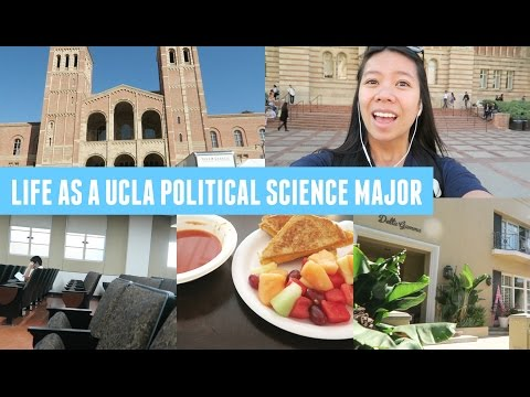 A Day in the Life of a Political Science Major at UCLA! (Follow Me Around)
