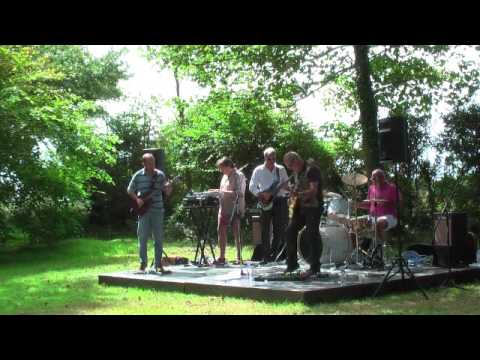 """Turquoise Days : """"Blurred"""" 'live'  Aug 09 Mound of Music La Hougue Bie"""