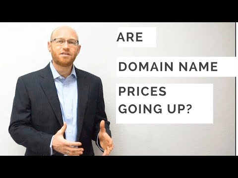 Are Domain Name Prices Going Up?
