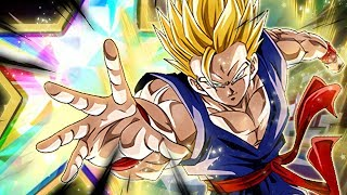 MONSTER SUPPORT! 100% RAINBOW STAR PHY SSJ GOHAN SHOWCASE! (DBZ: Dokkan Battle)