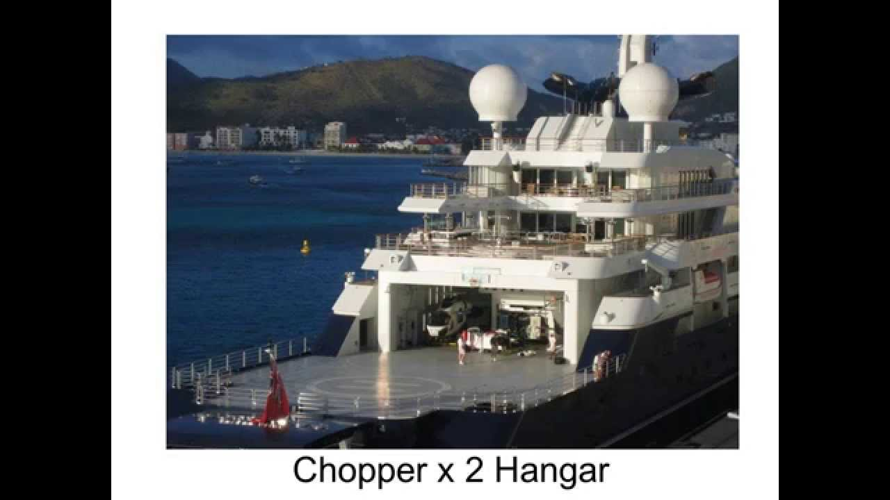Microsoft co-founder - Paul Allen's yacht octopus - YouTube